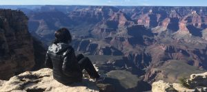 Shana At The Grand Canyon